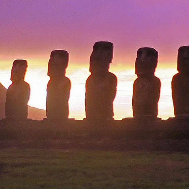 Easter Island statues reveal their secret—with help from a satellite