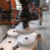 Industrial Automation: Vision guided robot picks and places bobbins