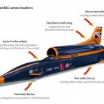 Attempt to break world land speed record puts vision system to the test